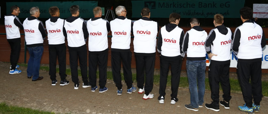 Novia unterstützt lokale Sportvereine