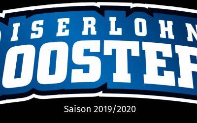 Sponsoring der Roosters Saison 2019/2020