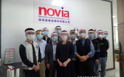 novia CN trotzt dem Corona-Virus mit vollem Einsatz