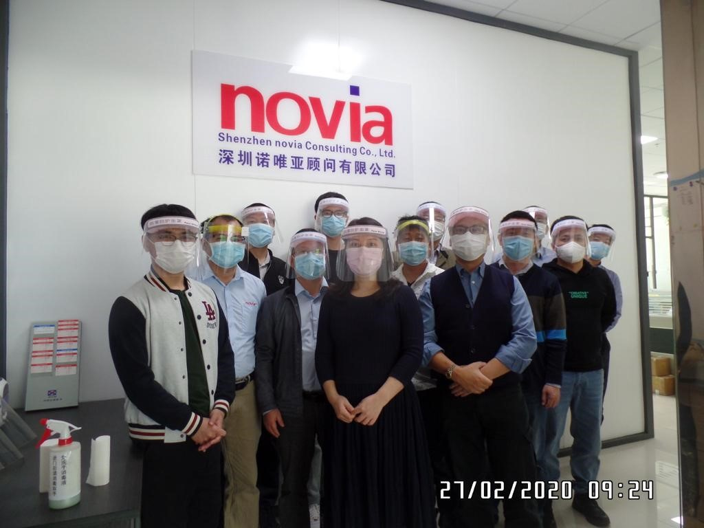 novia CN defies the coronavirus with full commitment